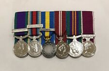 Mounted Miniature Medals, Ireland, Afghan, Althea, Diamond Jubilee, ASCSM, LSGC