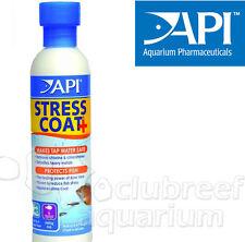 Stress Coat + Plus Aquarium Tap Water Conditioner API 4oz