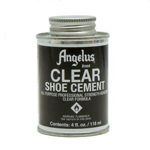 Angelus Clear Shoe Cement Glue - 4oz