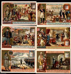 LIEBIG S 814 EPISODI DELLA STORIA DEL BELGIO anno 1904 ITALY >>