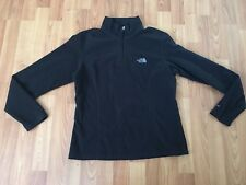 The North Face Womens Fleece Black Lightweight Pullover Medium TKA 100