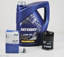 5 Liter Mannol SAE 10W-40 Defender Motoröl Öl mit MAHLE Ölfilter OC264