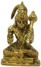 Skulptur Hanuman Ji Humble, Messing Statue Figur 7 cm Tempel göttlich Ramayana