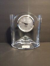 Lenox Crystal Mantle Clock