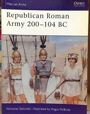 REPUBLICAN ROMAN ARMY 200-104 BC - OSPREY PUBLISHING