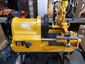 Steel Dragon Tools 6790 1/2 - 4 inch Pipe Threading Machine with Cart