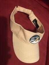 New Rolex International Women's Keelboat Championship 2007 Adult Visor Hat Cap