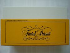 Trivial Pursuit Genius II 2 Edition Full Box of 500 cards, 3000 questions