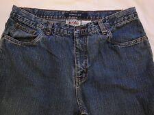 Bill Blass Perfect Fit Capri Jeans Size 12 5 Pocket c100% Cotton W 33 R 12 I 26