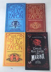 4 x Carlos Ruiz Zafon HB Fiction Young Adult Job Lot
