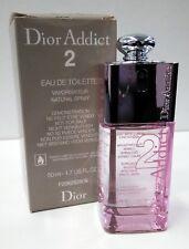 Dior Addict 2 Christian Dior 50 ml Eau de Toilette Spray NITB,Discontinued, HTF