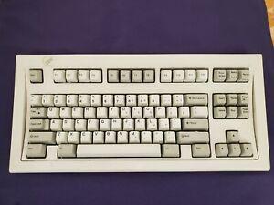 VTG IBM Model M SSK Space Saver Keyboard TKL 1391472 Grey Badge Bolt Modded