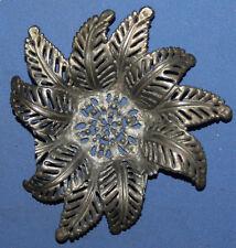 Vintage small metal floral decor