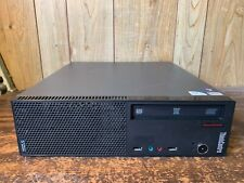 Lenovo A70 SFF Win 10 Desktop PC Computer RS232 9 Pin DVD RW Dual Core 320GB