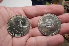 1982 HUNGARY 100 FORINT CuNi KM626 Y148 BU ( 2 COINS )