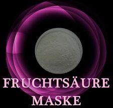 FRUCHTSÄURE 8% MASKEN Bioaktiv gegen Falten, Flecken,große Poren 7-8 Anwendungen