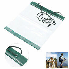 Waterproof Outdoor Camping Hiking Clear Map Covers Storage Case Dry Bag 、Fad