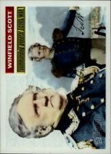 2009 Topps American Heritage Chrome #C25 Winfield Scott #/1776 BX 4Y