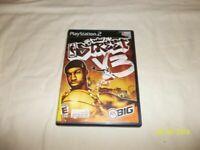 NBA Street Vol 3 / V3 (Sony PlayStation 2, PS2) - CIB - Tested - Free Shipping