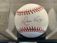 Moises Alou autographed offical ML Baseball w/COA Cubs,Expos,Marlins,Giants,Mets