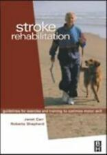 Stroke Rehabilitation: Guidelines for Exercise and Training to Optimize Motor Sk