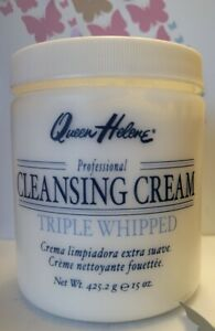 Queen Helene Professional Cleansing Cream, Triple Whipped 15oz. **FREE SHIPPING*