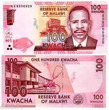 MALAWI Billet 100 KWACHA 2016 PNL NEW NOUVEAU ECOLE MEDECINE / SANGALA NEUF UNC