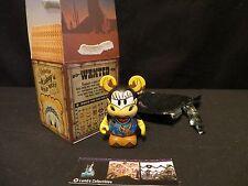 "Disney Parks Authentic Clarabelle 3"" Vinylmation Mickey's Wild West series"
