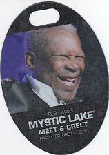 B.B. King Bb King Concert Backstage Pass All Access or Meet & Greet Laminate
