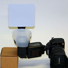 Pro XL FL220 bounce flash diffuser for Panasonic DMW FL500 FL360L Lumix DSLR