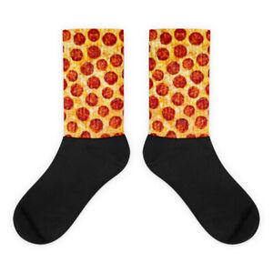 Mangia Pepperoni Pizza Socks