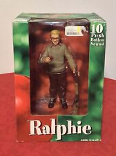 """A Christmas Story 1983 Movie Ralphie Parker 10"""" Talking Action Figure NECA New"""