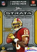 2012 Topps Strata Football Factory Sealed Blaster Box! Look for Wilson+Luck !