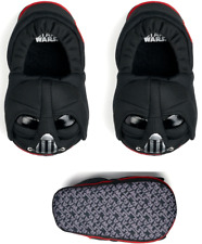 BOYS STAR WARS VADAR SKATE  BLACK STRAP TRAINERS,SIZE 7-1 KRAG