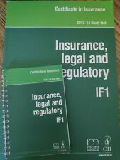 Insurance legal and regulatory IF1 Study text and keyfacts