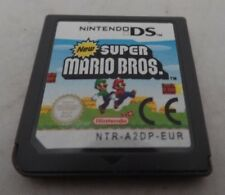 Genuine Super Mario Bros Nintendo DS Great Condition NTR-A2DP-EUR PAL