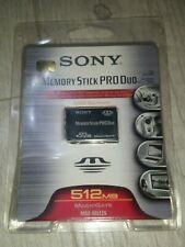Sony Memory stick pro Duo 512 mb Magic Gate Msx-m512s