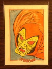 Hobgoblin Spider-Man Archives color sketch card 1/1 Bob Koya