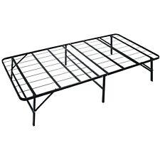 Metal Platform Bed Frame Box Spring Replacement Mattress Foundation TWIN Size