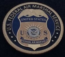 FAM Federal Air Marshal Service D HS Home land Security US TSA Challenge Coin