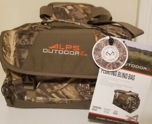 """Nwts ALPS OutdoorZ Realtree Max-5 Floating Blind Bag 12"""" x 9"""" x 8"""""""