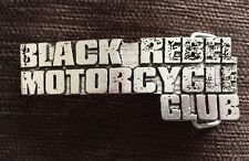 Official Black Rebel Motorcycle Club Belt Buckle NEW Rare Promotional