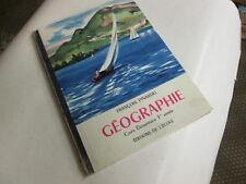 GEOGRAPHIE - COURS ELEMENTAIRE 1RE ANNEE - CLASSE DE DIXIEME