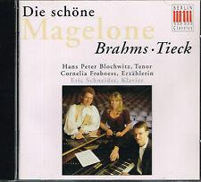 CD album: Brahms Tieck: die schöne magelone. edel. B