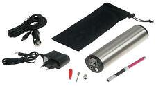 Hochleistungs Luftpumpe mit LiIon Akku Display, Druckeinstellung Kfz-Adapter