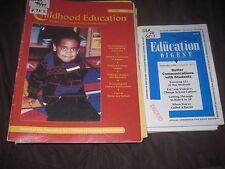 16-issues of Journal of Association for Childhood Education International  & FG