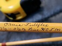 ORVIS FULLFLEX 7' FLY ROD IN SIGNED ORIGINAL ALUMINUM TUBE ONE PIECE
