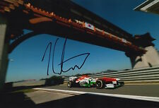 James CALADO Firmato a Mano 12x8 PHOTO SAHARA Force India f1 14.