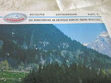 Alpenbahnen Westalpen K 4 Gotthardbahn Erstfeld Amsteg Gurtnellen Reusstal