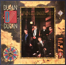 DURAN DURAN - Seven And The Ragged Tiger (LP) (VG/G+)